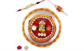 JaipurCrafts Combo Of Rakhi, Pooja Thali & More For Rs 199 at Amazon deal by rainingdeal.in