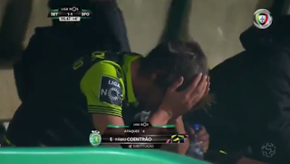 Former Real Madrid Star Breaks Into Tears After Being Subtituted In A Football Match