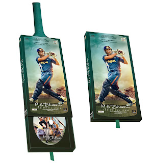"Ultra launched the DVD, VCD and Blu-ray pack of the much awaited blockbuster ""M.S. Dhoni- The Untold Story"" in India"