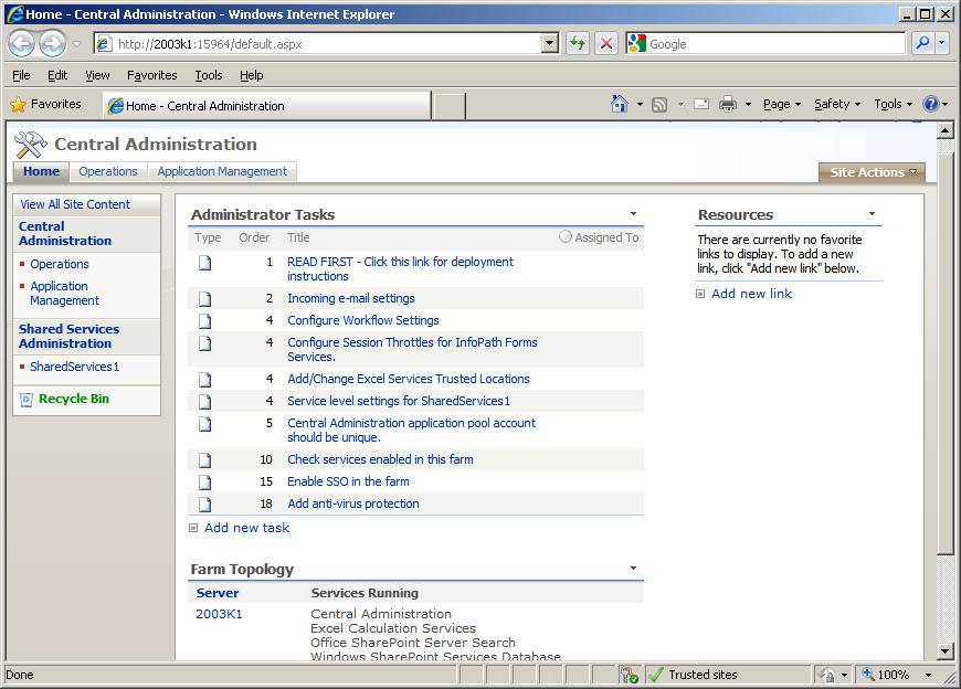 how to use sharepoint 2007