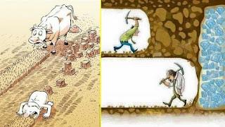 manusia yang serakah dan gagal