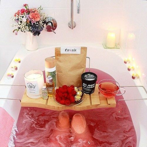 Home Spa Bathtub Pink
