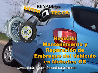 Mantenimiento Embrague Renault