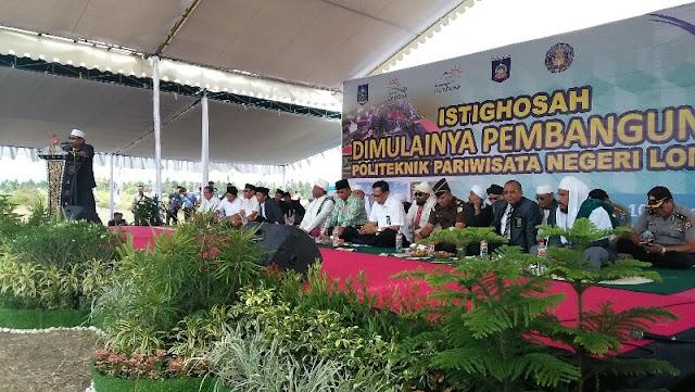 Tidak Terganggu Polemik, Poltekpar Lombok Ditarget Selesai Tahun Ini