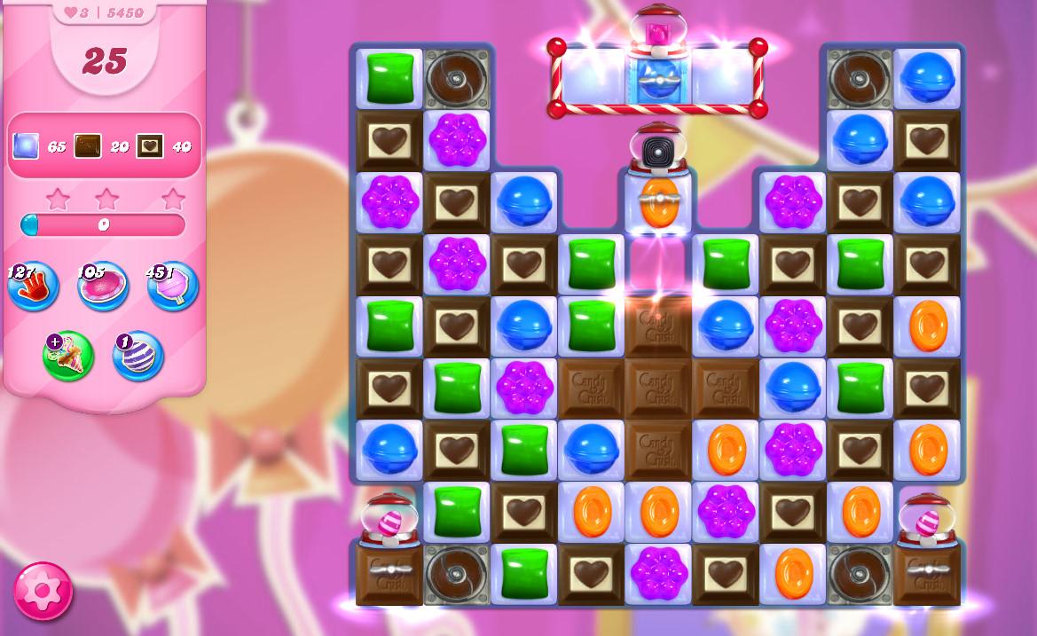 Candy Crush Saga level 5450