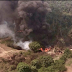 Watch Video: Nigerian Air Force Destroys Another Set Of Illegal Oil Barges In Rivers State