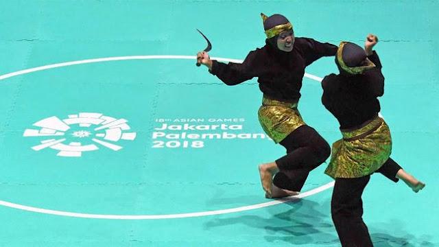 Emas ke-26 Indonesia Diraih dari Pencak Silat Ganda Putri