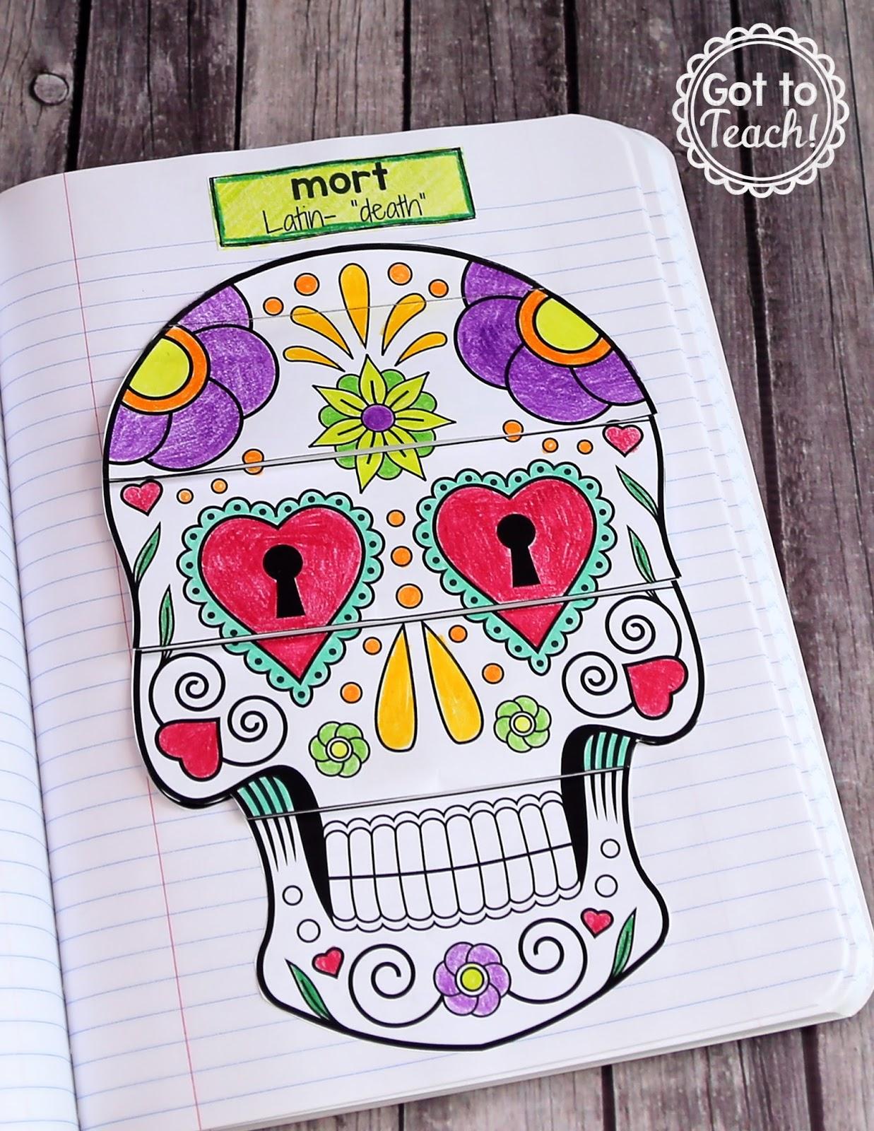 Halloween Latin Root Word Activity Teacher Thrive