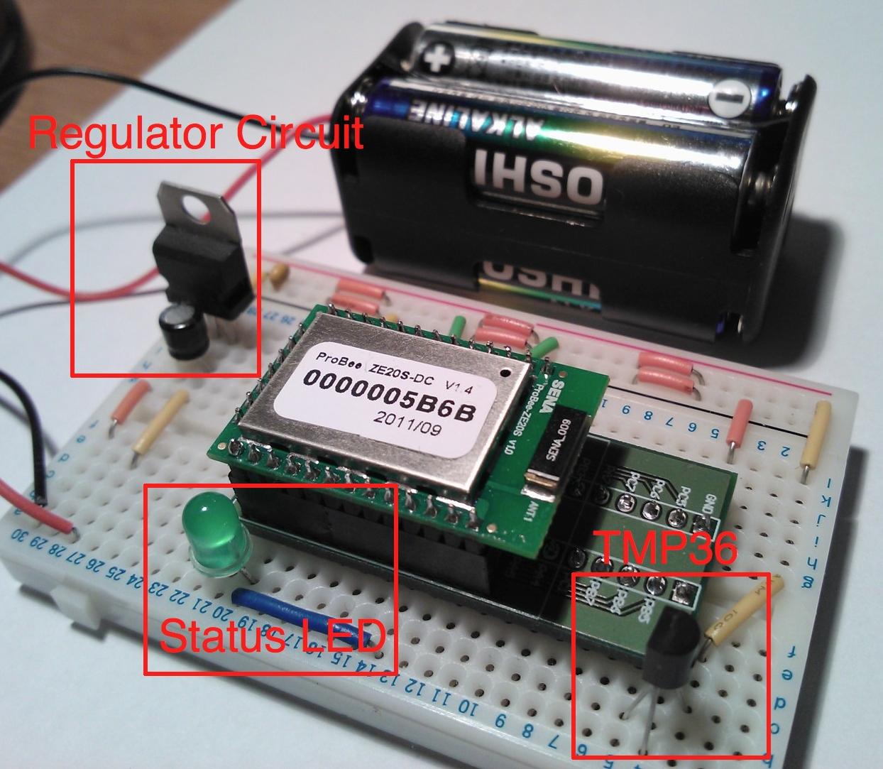 Arduino zigbee and embedded development probee based