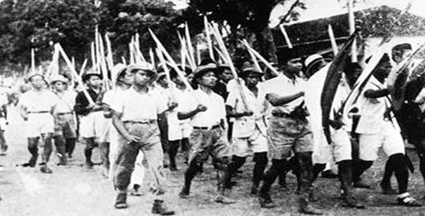 Perlawanan rakyat Maluku terhadap Belanda dipimpin Thomas Matulessy