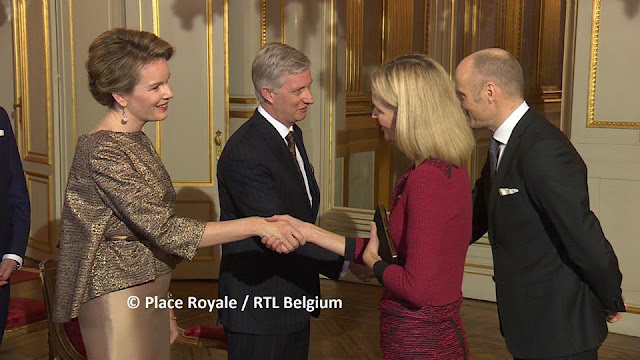 Queen Mathilde NATAN Dress