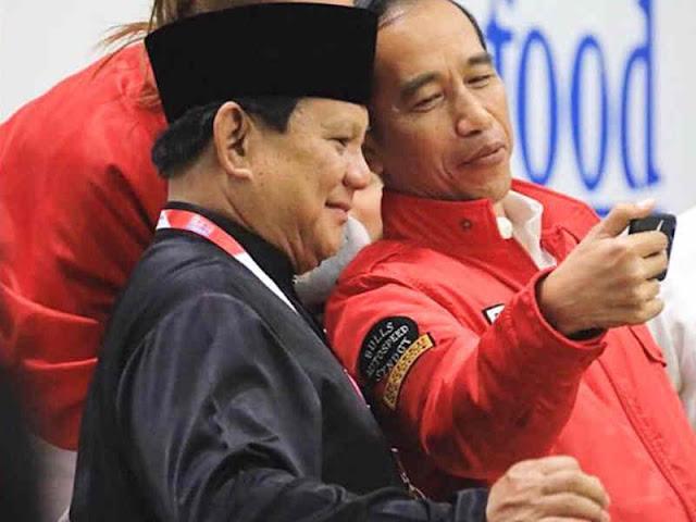 Unggul di Quick Count, Jokowi Tunggu Hitungan KPU, Prabowo Klaim Menang 55 Persen