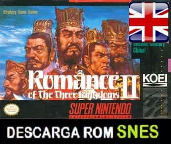 Romance of the Three Kingdoms II RPG (Ingles)  en INGLES descarga directa