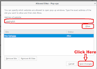 how to remove unwanted popups in mozilla