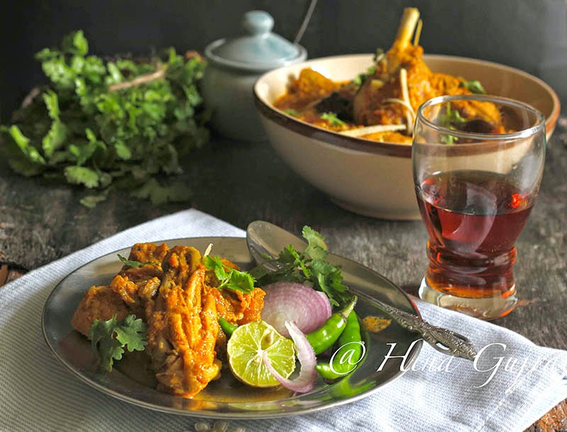 every bit the yell suggests is the recipe from Lahori Cuisine together with needless to yell that Lahor Lahori Murgh Recipe
