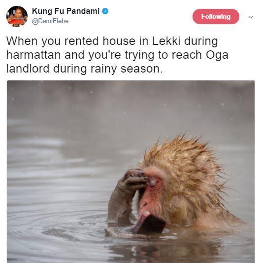 Nigerians on social media mock Lekki residents over recent flood