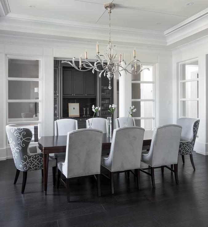 25 Elegant And Exquisite Gray Dining Room Ideas: 25 Elegant Dining Room
