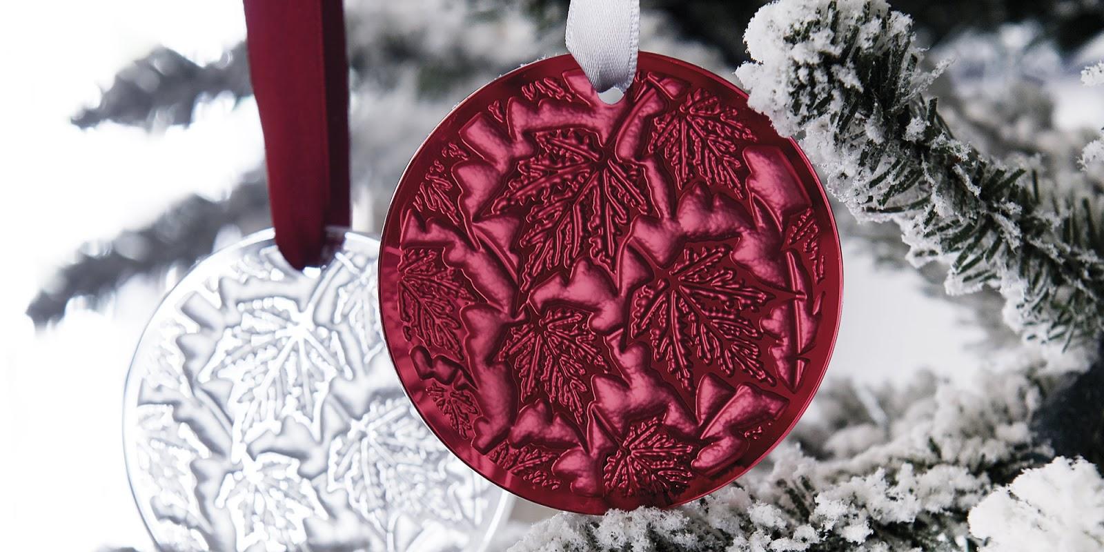 Satchel: Lalique Champs-Elysées Christmas Tree Ornament