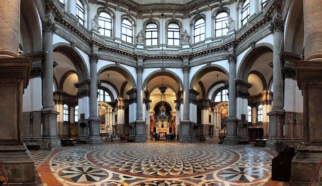 Sobre a Basílica de Santa Maria della Salute em Veneza