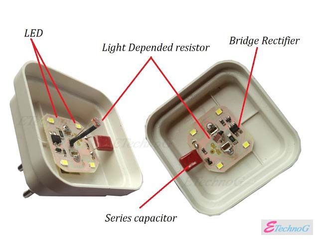 How Auto ON/OFF sensor light works? Sensor light with LDR