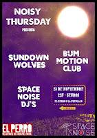 Concierto de Sundown Wolves y Bum Motion Club en El perro de la parte de atrás del coche