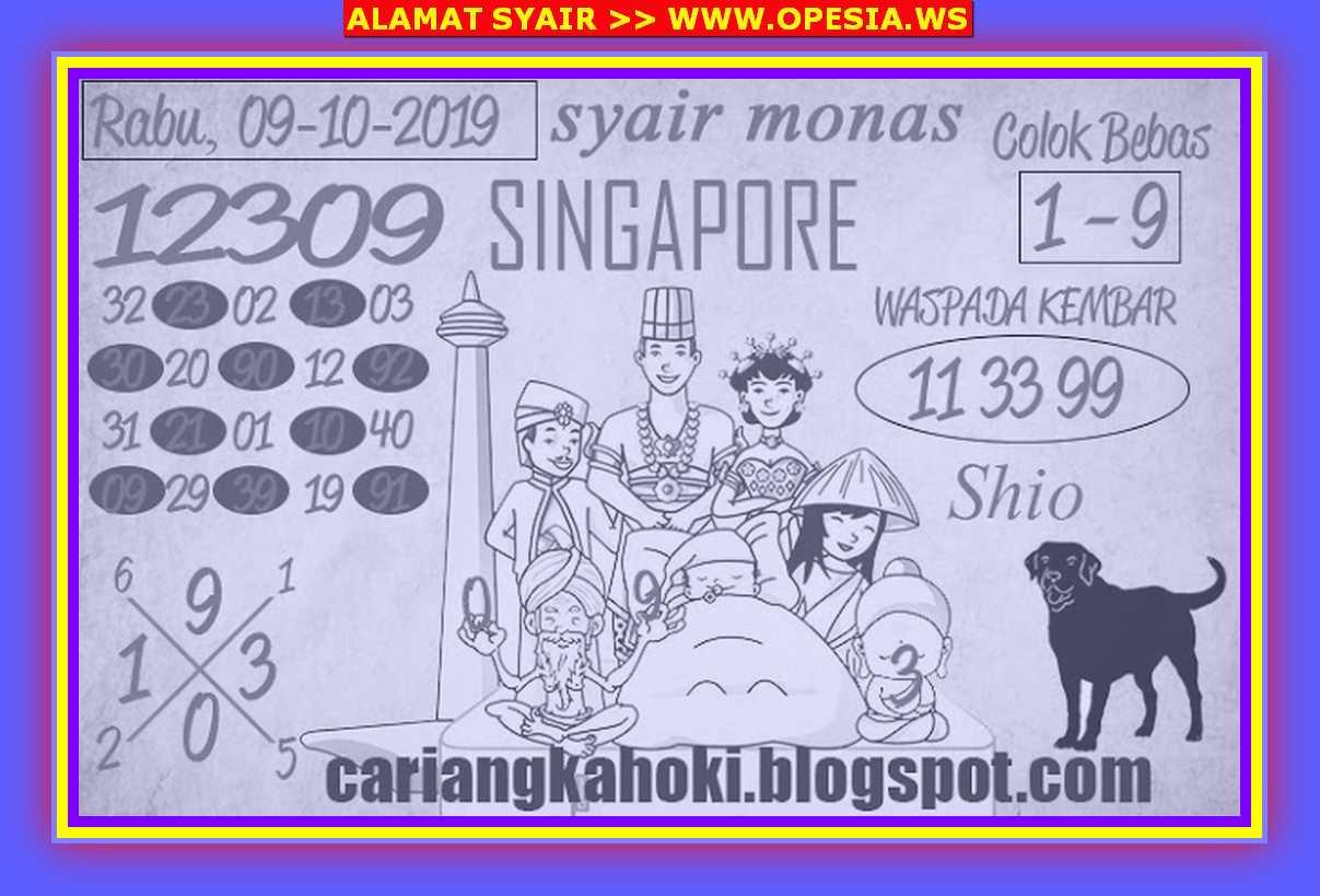 Kode syair Singapore Rabu 9 Oktober 2019 69