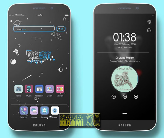 MIUI Thema BauSunguttV1 Mtz Plus Template ZW For Xiaomi Redmi