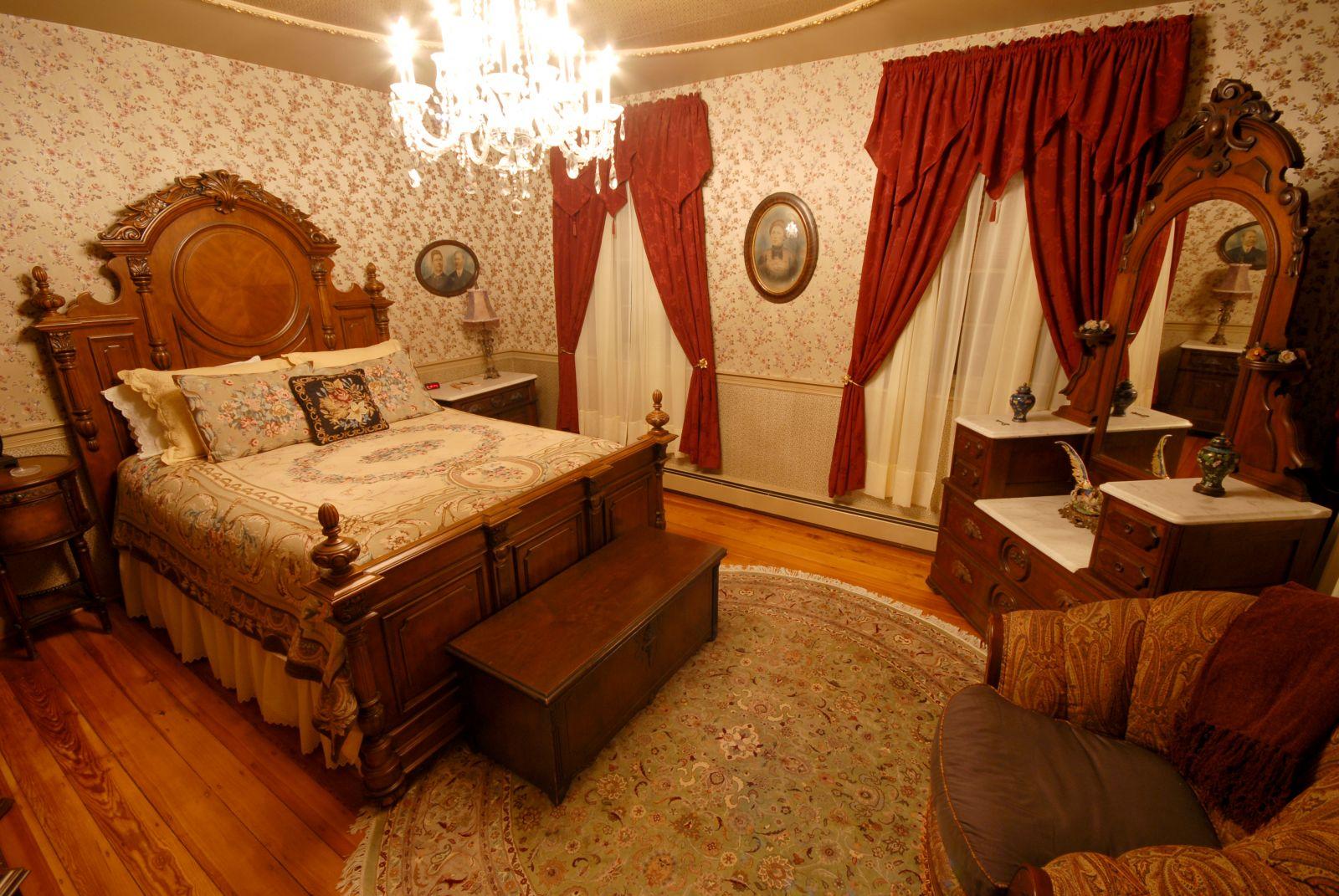 Desain Kamar Tidur Gaya Victorian