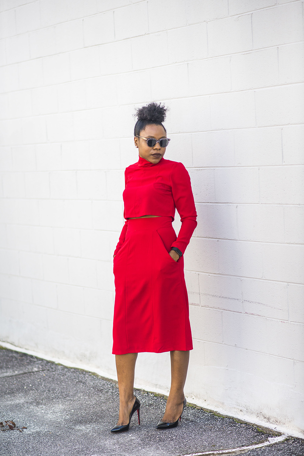 Fashion Trend: Red Co-ord Set