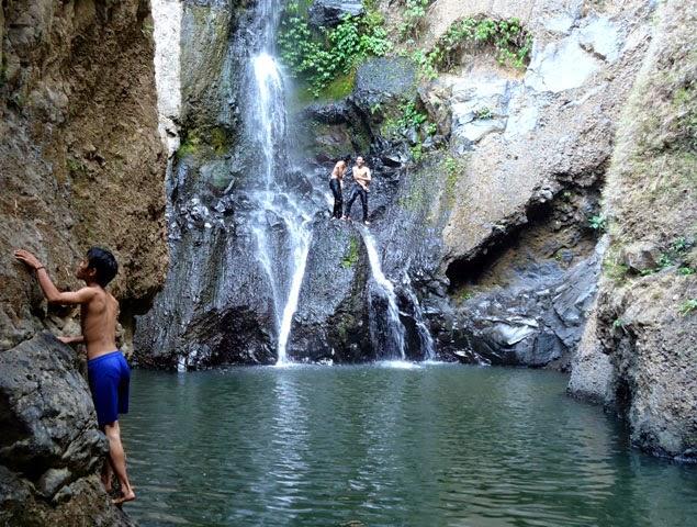 Air Terjun Kerta Gangga, Kolam Alami Yang Mempesona