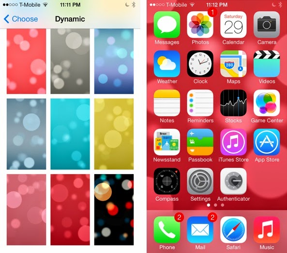 How To Get These Five Hidden Dynamic Wallpapers In iOS 7 – TechGreatest