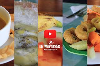 Weltreise durch Sri Lanka, Sigiriya super leckeres essen ohne ende günstig Die Wegsucher
