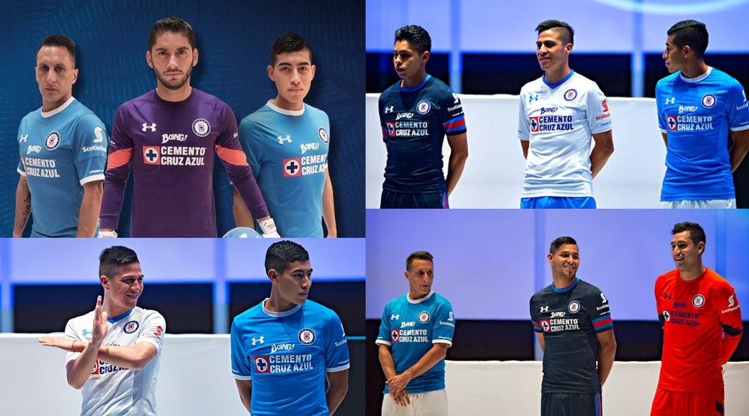 2e1440bf666 Jersey Cruz Azul Under Armour 2016-2017. Video de la presentación del  uniforme ...