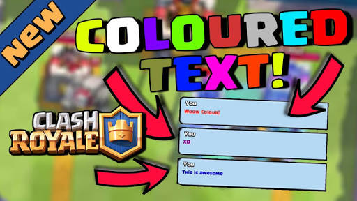 Changing Username Color on Clash Royale