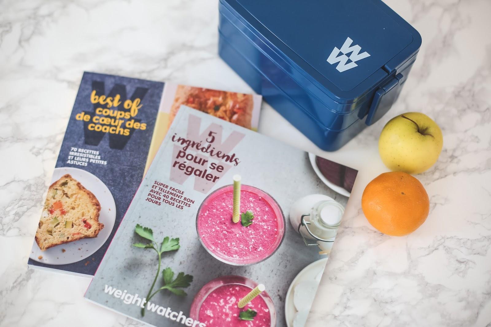 livres de recettes weight watchers