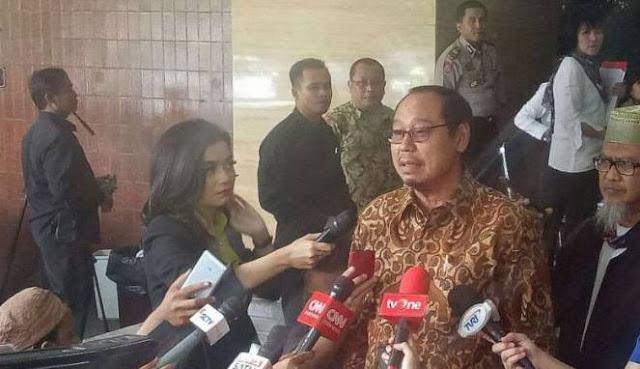 Ironis, Ketua PPP Djan Faridz Ajak Ketua MUI Jakarta Timur Dukung Ahok-Djarot