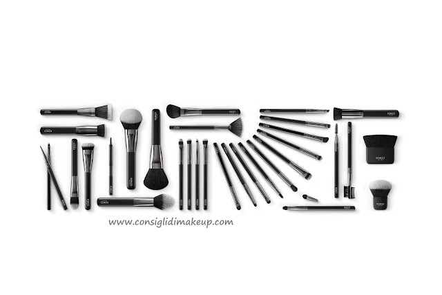 linea completa pennelli kiko brush experts