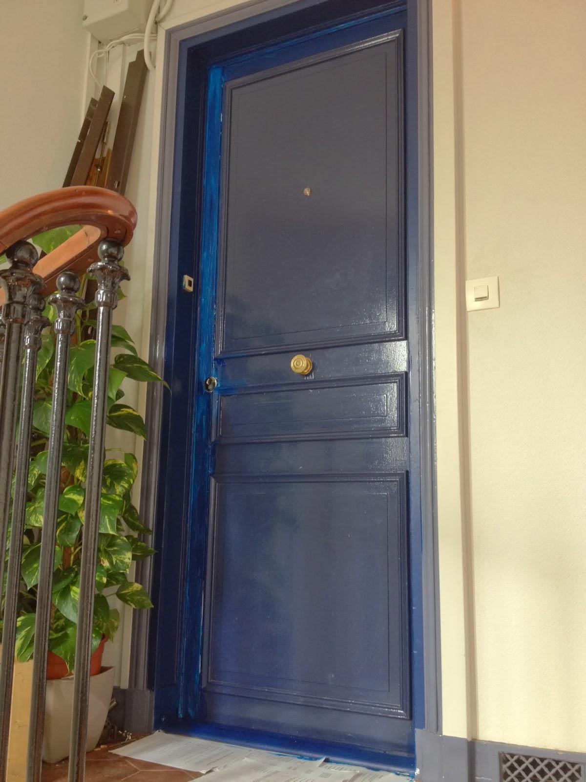 changement de porte d 39 entr e la clamartoise. Black Bedroom Furniture Sets. Home Design Ideas