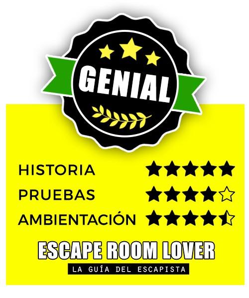 Mad Mansion - Proyecto Gibeon - Escape Room - Opiniones