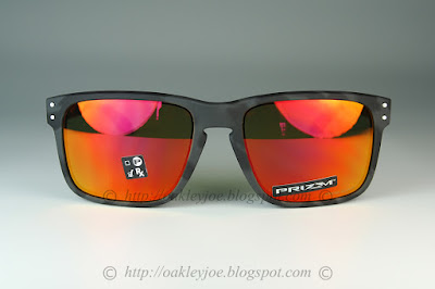 Custom Holbrook matte black tortoise + ruby iridium lens  230 lens pre  coated with Oakley hydrophobic nano solution complete package comes with  box and ... 9ad3ca109b