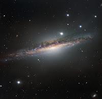 Spiral Galaxy NGC 1055