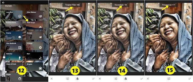 Cara Membuat Foto Efek HDR di Smartphone dengan Snapseed 5