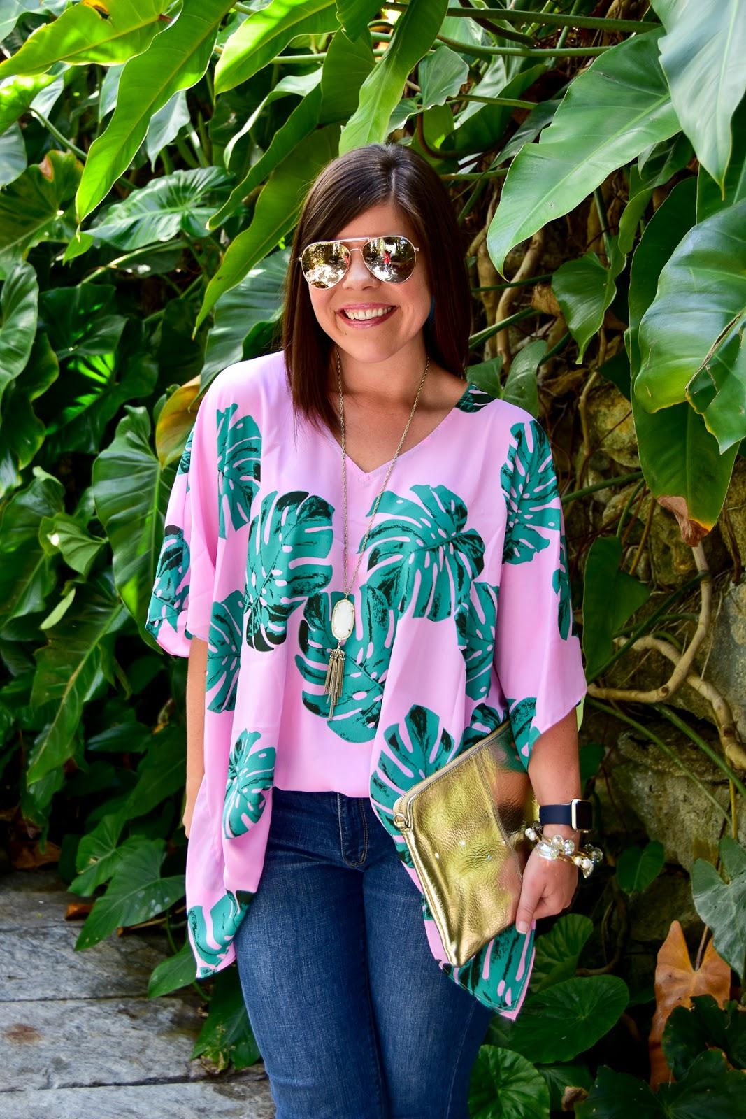 Summer Palm Print