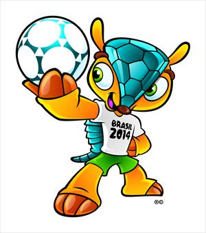 Maskot Piala Dunia 2014