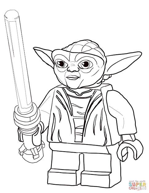 Lego Star Wars Master Yoda