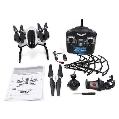 SONGYANG SY-X33 foldable Drone package contents
