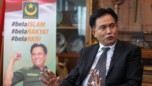 Yusril Ihza Sindir Prabowo, Percuma Ngaku Jadi Presiden Kalau Tidak Dilantik MPR, Tidak Ada Gunanya