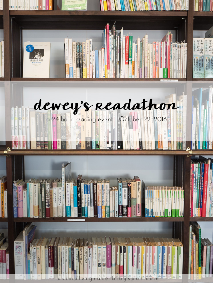 I'm participating in Dewey's 24-hour #readathon and sharing live updates on the blog! - Dewey's 24 Hour Readathon | Live Update #readathon