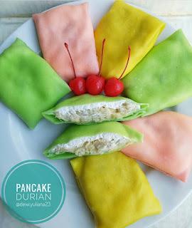 Resep Pencake Durian By @dewi.yuliana23