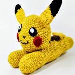 http://www.ravelry.com/patterns/library/pokemon-flat-pikachu-amigurumi---video